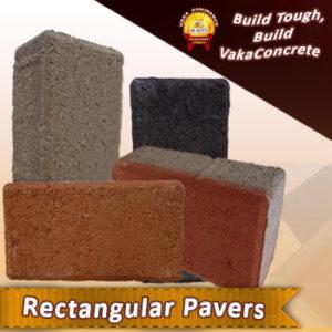 holland rectangular pavers