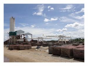 Vaka concrete Harare brick manufacturing plant